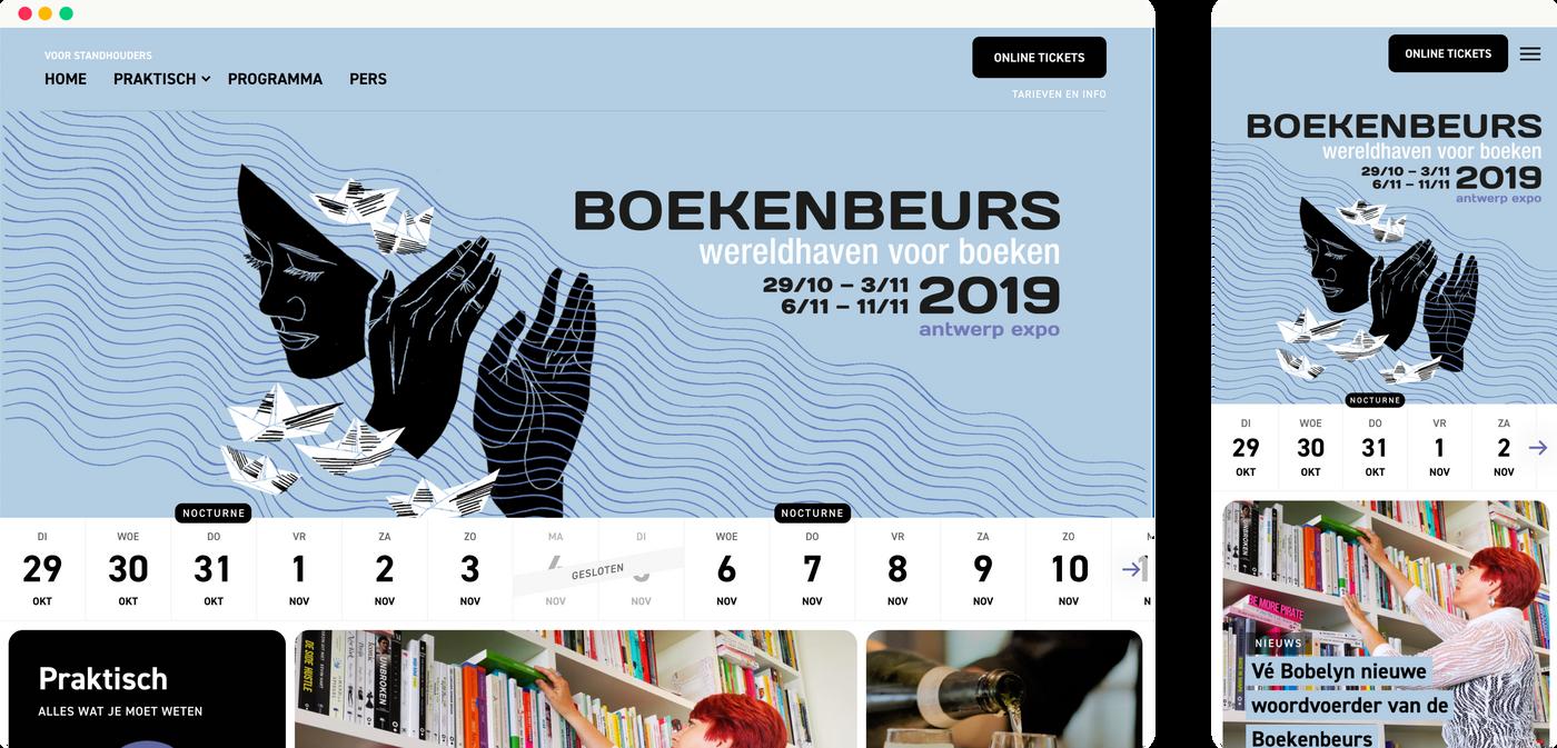 Boekenbeurs homepagina