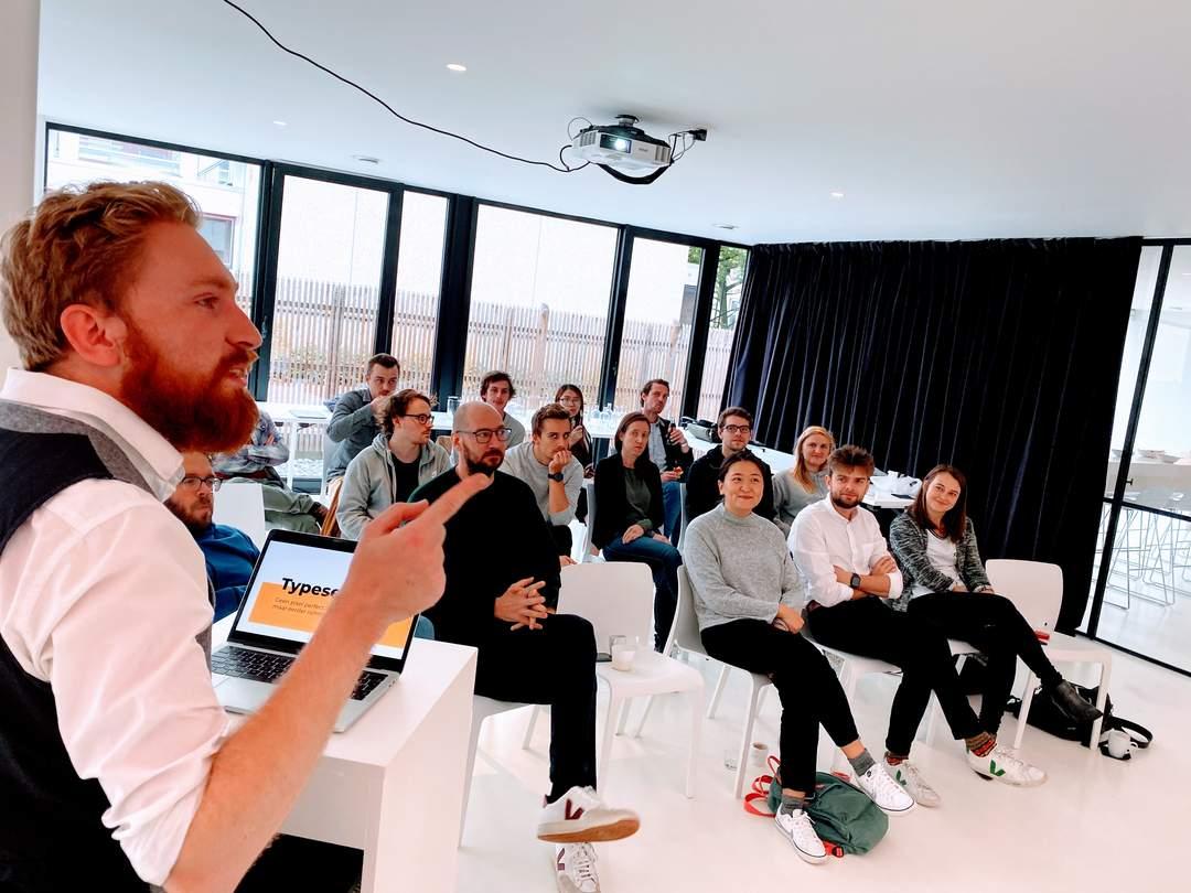 presentatie over Typesetting door Gertjan Verheyden