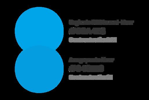 DNS Belgium - De brand-kleur van DNS Belgium moest lichtjes aangepast worden voor online gebruik