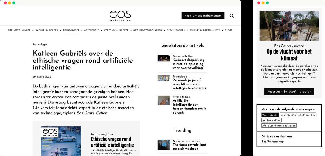 eos wetenschap - artikel small