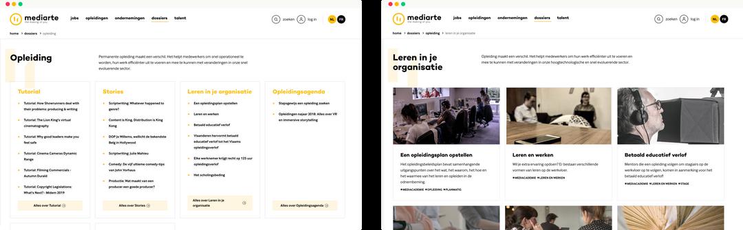 Mediarte - jobs & dossiers